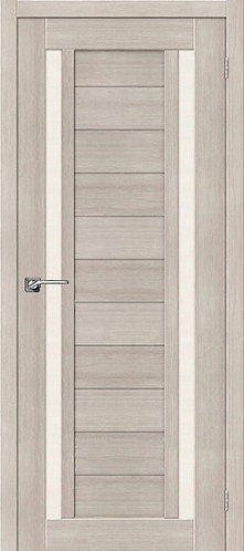 Межкомнатная дверь экошпон ST-6 / Cappuccino Veralinga