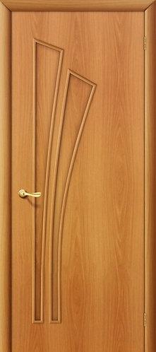 Ламинированная межкомнатная дверь Салют ДГ / миланский орех