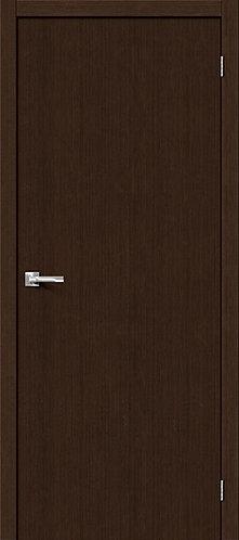 Межкомнатная дверь с покрытием 3D Т-0 / 3D Wengе