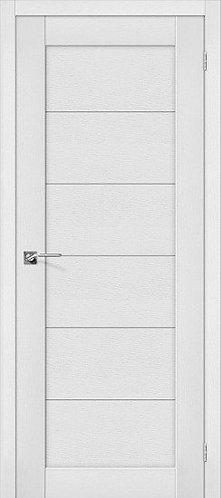 Межкомнатная дверь экошпон L-21 /Virgin