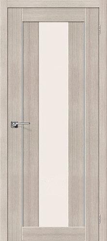 Межкомнатная дверь экошпон ST-7m / Cappuccino Veralinga