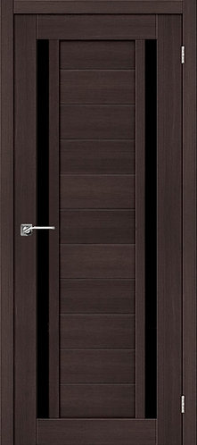 Межкомнатная дверь экошпон ST-6 Black / Wenge Veralinga