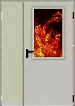 Дверь противопожарная ДМПО-2 EI-60