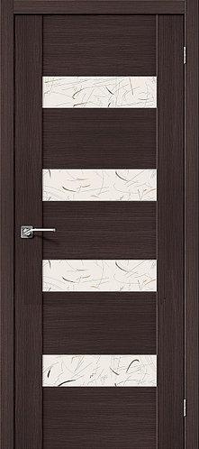 Межкомнатная дверь экошпон VM4 / Wenge Veralinga