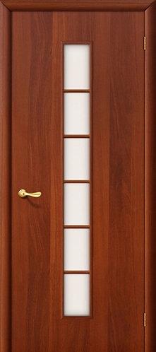 Ламинированная межкомнатная дверь Лесенка ДО / итальянский орех