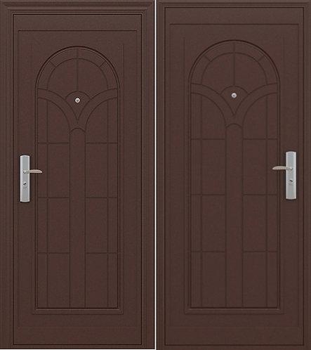 входная дверь Эконом 01 (металл/металл)