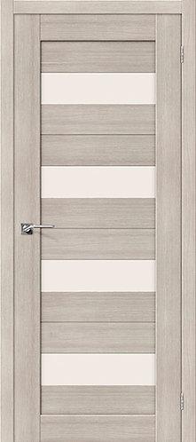 Межкомнатная дверь экошпон ST-8-4 / Cappuccino Veralinga