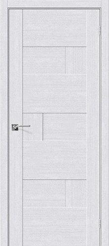 Межкомнатная дверь экошпон L-38 /Milk Oak