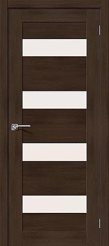 Межкомнатная дверь экошпон L-23 / Темный дуб