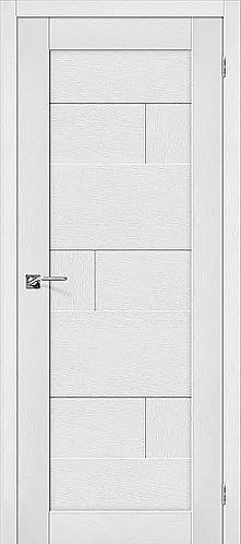 Межкомнатная дверь экошпон L-38 / Virgin
