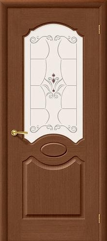 Межкомнатная дверь Селена ДО/ орех