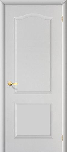 Ламинированная межкомнатная дверь Палитра ДГ / белый