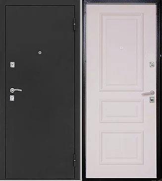 входная дверь Евро (антик медь/беленый дуб)