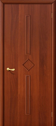 Ламинированная межкомнатная дверь Соло ДГ / итальянский орех