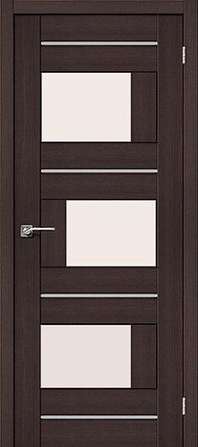 Межкомнатная дверь экошпон ST-3m / Wenge Veralinga