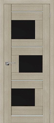 Межкомнатная дверь экошпон ST-3m Black / неаполь