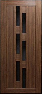 Межкомнатная дверь экошпон ST-21 EKS Black / орех