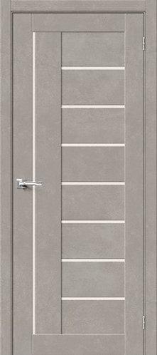 Межкомнатная дверь с покрытием 3D Б-29/ Gris Beton