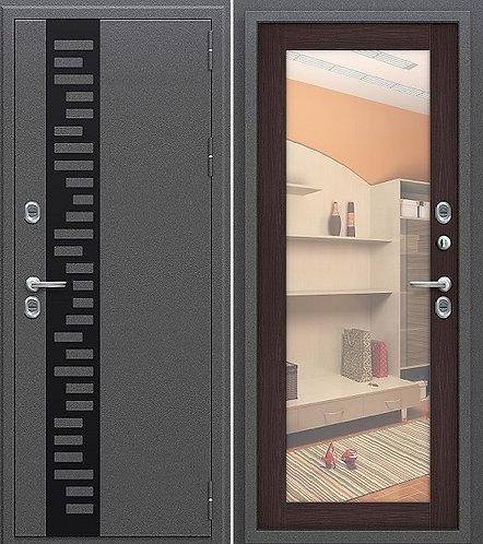 Входная стальная дверь с терморазрывом ТЕРМО - 220 венге
