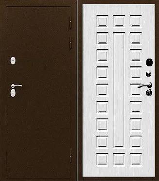 Входная дверь с терморазрывом ИЗОТЕРМА лиственница мокко