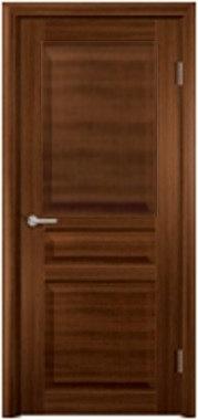 Межкомнатная дверь экошпон ST-23 ДГ / Орех