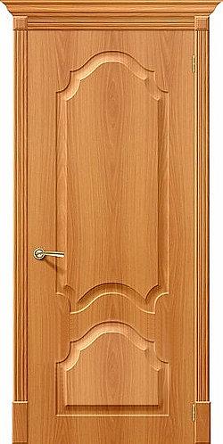 Межкомнатная дверь с покрытием ПВХ Скинни-32 / миланский орех