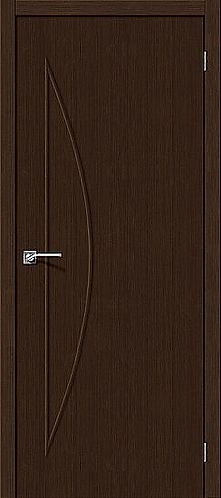 Межкомнатная дверь с покрытием 3D М-5 / 3D Wengе