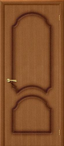Межкомнатная дверь Кристалл ДГ/ орех