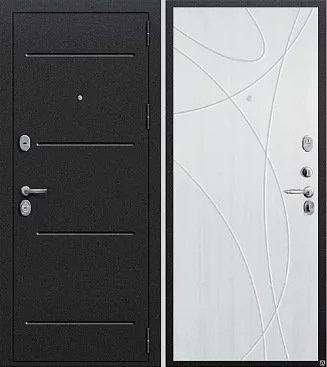 входная дверь Муссон (антик серебро темное/сандал)