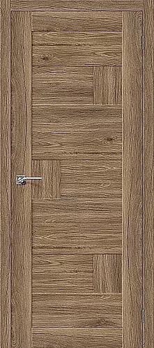 Межкомнатная дверь экошпон L-38 / Оригинальный дуб
