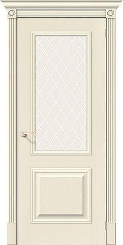 межкомнатная дверь натуральный шпон Вуд Классик-13/ Whitey
