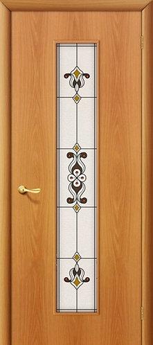 Ламинированная межкомнатная дверь Тиффани-3 / миланский орех