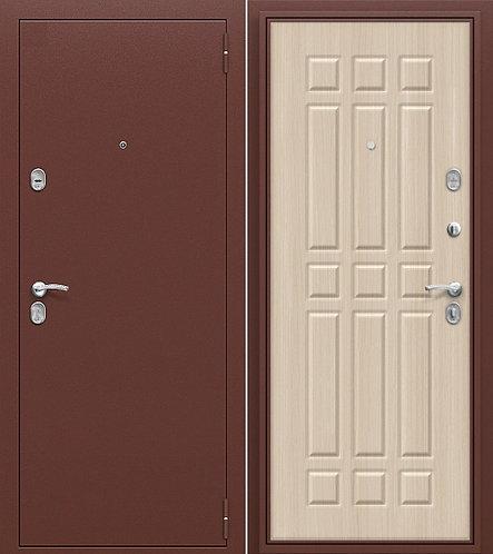 входная дверь СТАРТ (антик медь/беленый дуб)