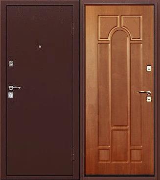 входная дверь Рим (антик медь/лиственница кофе)
