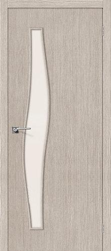 Межкомнатная дверь с покрытием 3D М-8 / 3D Cappuccino