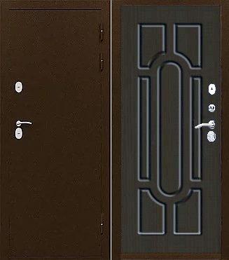 Входная дверь с терморазрывом ТС-ТЕРМО ГРАНД каштан шоколадный (венге)