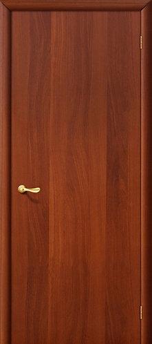 Ламинированная межкомнатная дверь ДПГ / итальянский орех