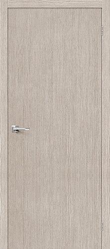 Межкомнатная дверь с покрытием 3D Т-0 / 3D Cappuccino