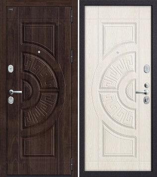 входная дверь Р3-312 Темная Вишня/Беленый Дуб