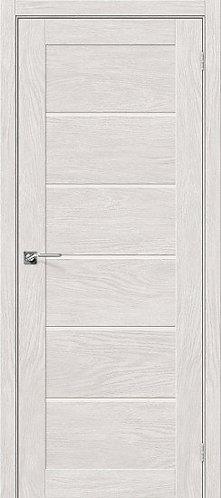 Межкомнатная дверь экошпон L-22 / Chalet Blanc