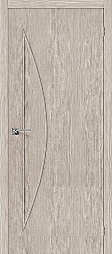 Межкомнатная дверь с покрытием 3D М-5 / 3D Cappuccino