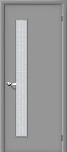 Ламинированная межкомнатная дверь ГОСТ ПО1 /серый