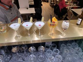Key lime, martini jus d'orange, irish co
