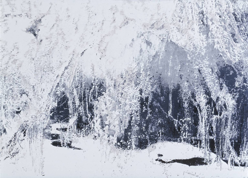 White Ice 2002 by Anya Gallaccio born 1963