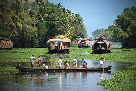 navigazione in kettuwallam, Kerala