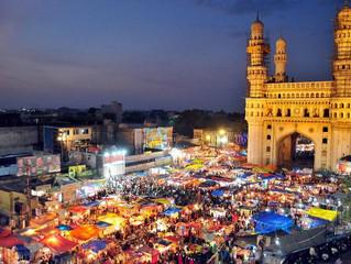 Hyderabad e il Forte di Golconda (Andhra Pradesh)