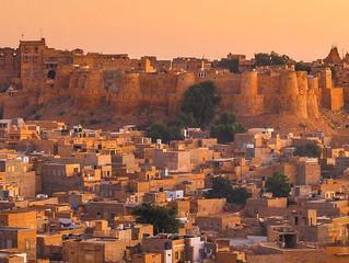"""48 ore a Jaisalmer """"la citta d'oro."""""""