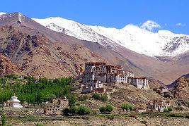 monastero buddista in Ladakh