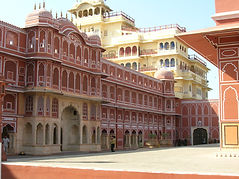 il complesso del City Palace a Jaipur
