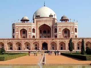 La tomba di Humayun a Delhi